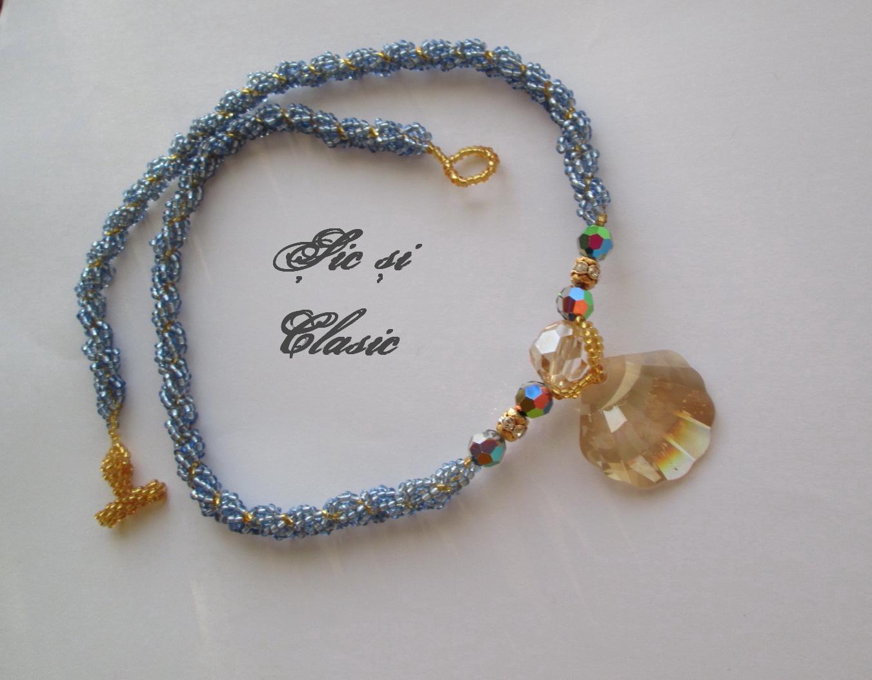 swarovsky elegant necklace design