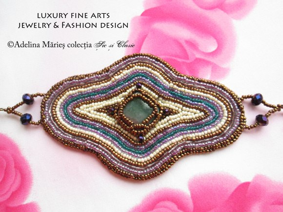 haute couture luxury embroidery seed beads jewelry