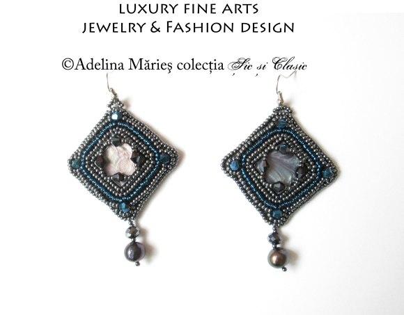 seed beads earrings