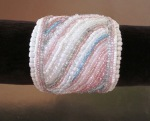white and pink bracelet Chic and Classic design Adeina Maries