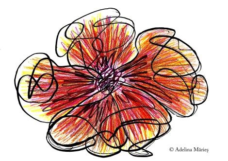 soft pastels drawing